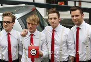 Tom Fletcher, Dougie Poynter, Danny Jones, Harry Judd and Itv Studios