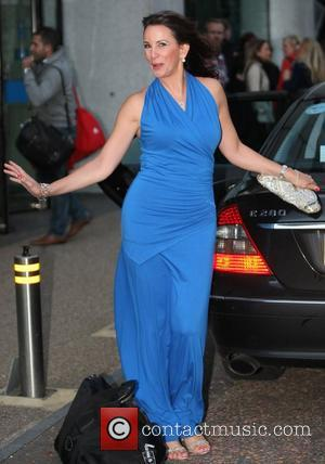 Andrea McLean at the ITV studios  London, England - 03.10.12