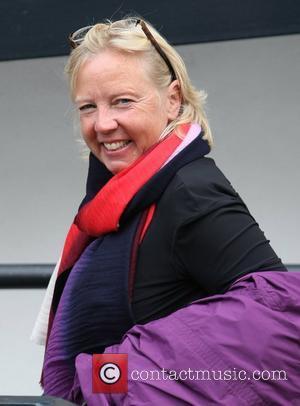 Deborah Meaden at the ITV studios  London, England - 03.10.12