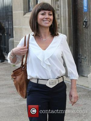 Clare Nasir outside the ITV studios London, England - 26.01.12