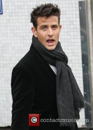 Joey McIntyre at the ITV studios London, England - 22.02.12