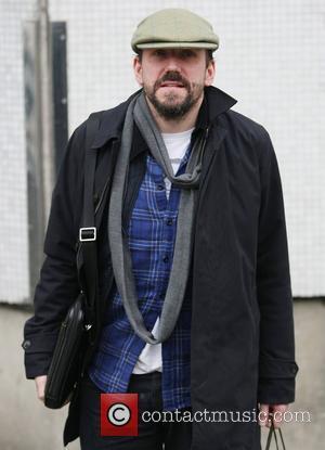 Ben Miller outside the ITV studios London, England - 17.02.12