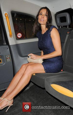 Melanie Sykes ITV 'Summer' Party, held at Aqua Restaurant - Departures. London, England 12.07.12