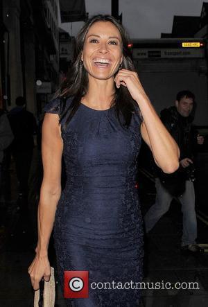Melanie Sykes ITV 'Summer' Party, held at Aqua Restaurant - Departures. London, England 12.07.12