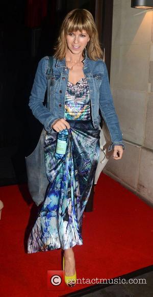 Kate Garraway ITV 'Summer' Party held at Aqua Restaurant - Departures London, England - 12.07.12