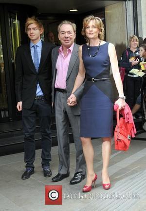 Andrew Lloyd Webber and Madeleine Lloyd Webber The 57th Ivor Novello Awards held at the Grosvenor House - Arrivals. London,...