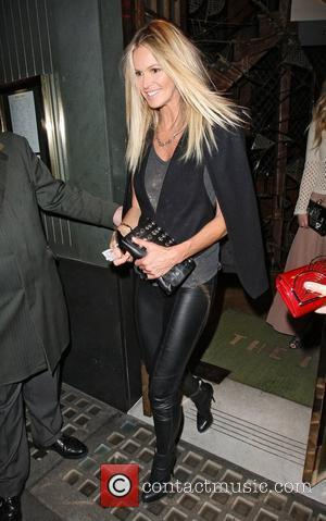 Elle Macpherson leaving the Ivy restaurant London, England - 19.06.12