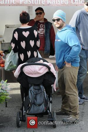 Jack Osbourne, Lisa Stelly and Pearl Osbourne