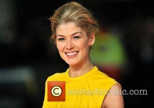 Rosamund Pike and Odeon Leicester Square