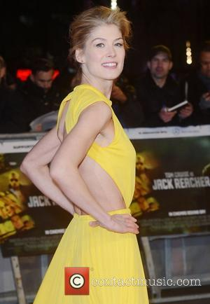 Rosamund Pike, Jack Reacher, Odeon, Leicester Square, London and England