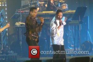 Jackie Jackson, Marlon Jackson The Jacksons perform in a special Michael Jackson Tribute Concert Japan - 12.12.11