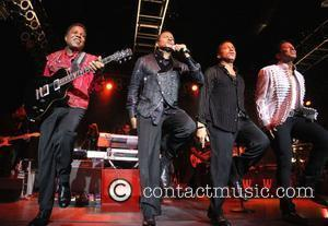 Tito Jackson, Jackie Jackson, Marlon Jackson, Jermaine Jackson  performing live during The Jacksons Unity Tour 2012 at The Cannery...