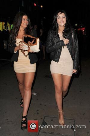 'Eastenders' actress Jacqueline Jossa enjoys a night out in the West End with friends London, England - 21.01.12