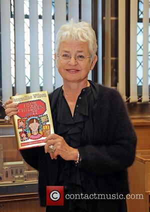 Bestselling children's author Dame Jacqueline Wilson at a reading in Liverpool Anglican Cathedral Liverpool, England - 22.08.12