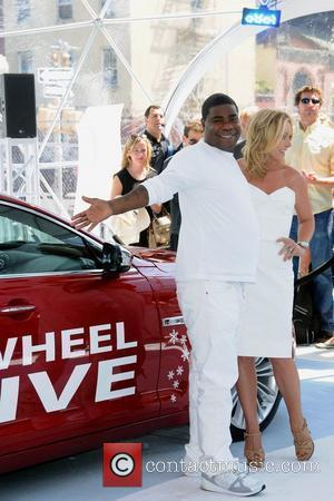 Jane Krakowski and Tracy Morgan