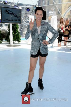 Johnny Weir  Jaguar's 'Chill NY' event celebrating Jaguar's instinctive All-Wheel Drive announcement at High Line Park 16.08.12 - New...