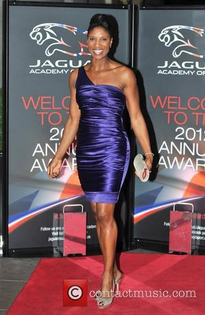 Denise Lewis Jaguar Academy of Sport Annual Awards held at The Savoy - Arrivals London, England - 02.12.12