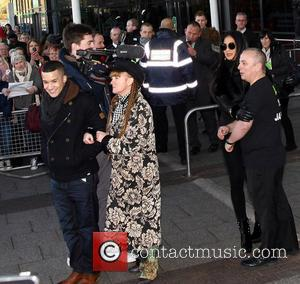 X Factor Finalist Jahmene, Douglas, Nicole Scherzinger, Asda, Haydon Wick, Swindon and Saturday