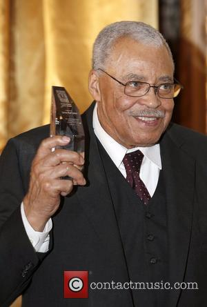 James Earl Jones  Receiving the International Legacy Award at Best Buddies Canada Annual Gala held at the Fairmont Royal...