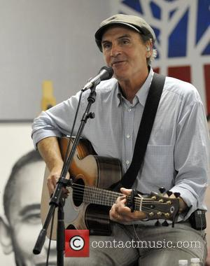 James Taylor Flubs 'The Star-Spangled Banner', Recovers Like A Pro.