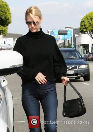January Jones out and about in West Hollywood West Hollywood, California - 29.03.12