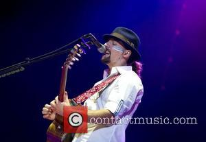 Jason Mraz performing live at the Ziggo Dome. Amsterdam, the Netherlands - 22.11.12