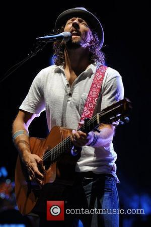 Jason Mraz  performing on the 'Tour is a Four Letter Word' tour at the Cruzan Amphitheatre  West Palm...