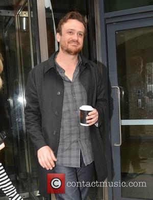 Jason Segel  at the Today FM studios Dublin, Ireland - 13.06.12