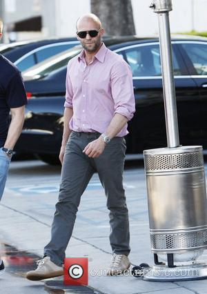 Jason Statham leaves a restaurant in West Hollywood after having lunch with a friend  West Hollywood, California - 14.05.12