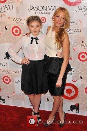 Blake Lively and Chloe Moretz