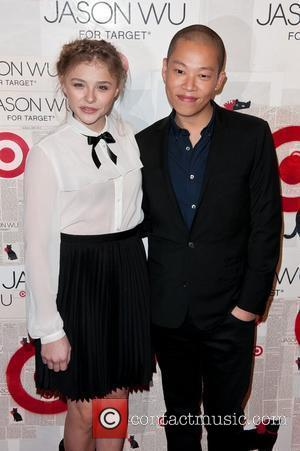 Chloe Moretz and Jason Wu