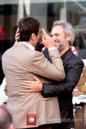 Sam Mendes and Javier Bardem