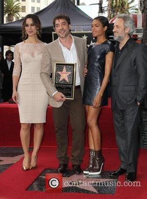Berenice Marlohe, Javier Bardem, Naomie Harris and Director Sam Mendes