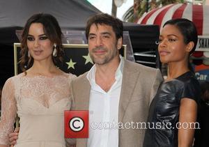 Berenice Marlohe, Javier Bardem and Naomie Harris