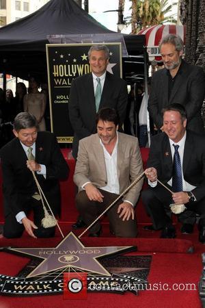 Leron Gubler, Javier Bardem, Sam Mendes and Guests