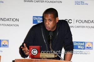 Shawn Carter aka Jay-Z United Way Of New York & Shawn Carter Scholarship Foundation press conference, held at Carnegie Hall...