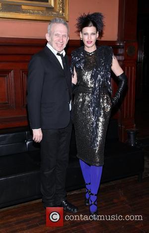 Jean Paul Gaultier and Linda Evangelista