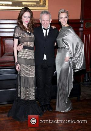 Jean Paul Gaultier at the Lycee Francais de New York 2012 gala at the Park Avenue Armory. New York City,...