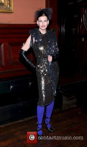 Linda Evangelista at the Lycee Francais de New York 2012 gala at the Park Avenue Armory. New York City, USA...