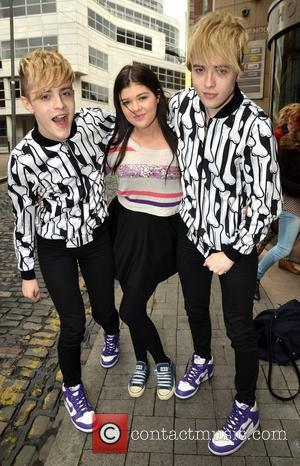 Jedward with fan Jodie Muldoon After partying with Tara Reid over the past few days John and Edward Grimes aka...