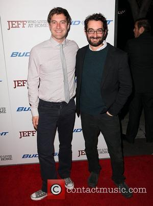 Mark Duplass and Jay Duplass attending the Premiere of 'Jeff Who Lives At Home' held at the Director's Guild of...