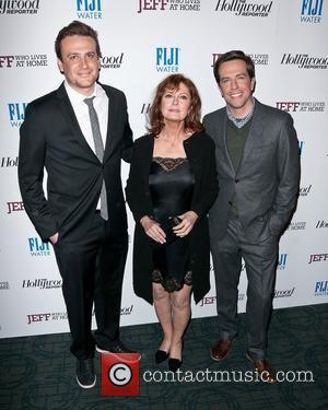Jason Segel, Ed Helms and Susan Sarandon