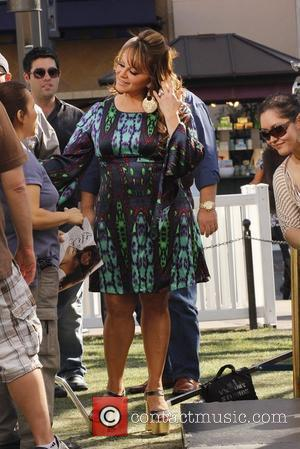 Jenni Rivera at The Grove to appear on the programme, 'Extra'  Los Angeles, California - 09.03.12