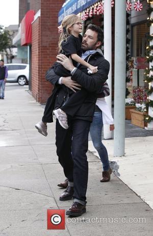 Ben Affleck and Violet Affleck