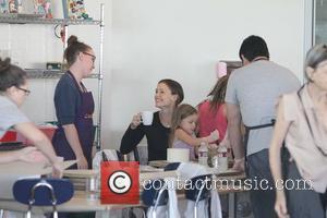 Jennifer Garner, Ben Affleck, Violet, Seraphina and West Hollywood