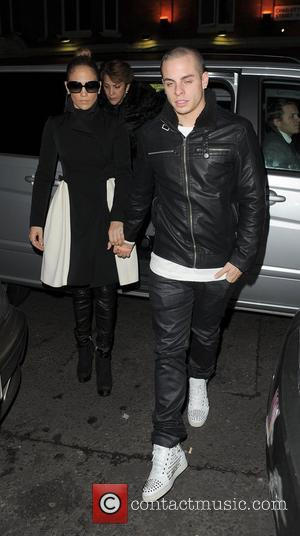 Jennifer Lopez, Casper Smart and Charlotte Street Hotel