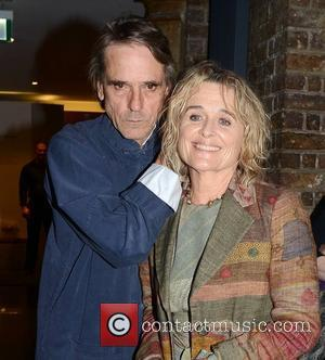 Jeremy Irons and his wife of 34 years Sinead Cusack at special screening of their film 'Waterland' 20 years after...