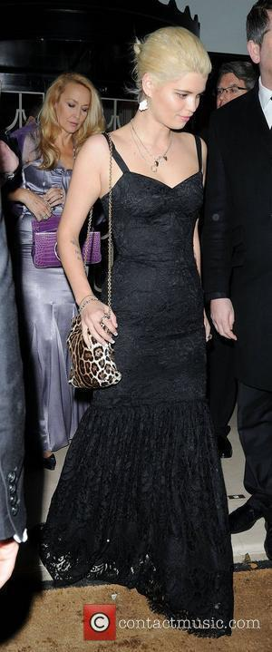 Pixie Geldof and Jerry Hall  celebrities attending the Leon Max Winter Dinner and Dance at Claridges Hotel London, England...