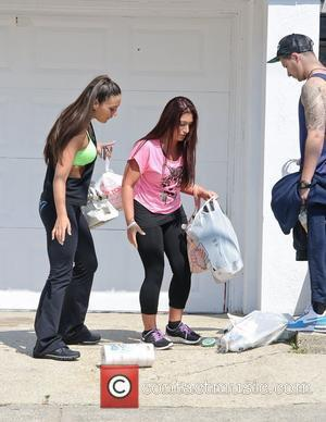 Vinny Guadagnino, Sammi Giancola, Deena Cortese  The Cast of 'Jersey Shore' out and about  Seaside Heights, USA -...