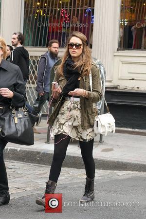 Jessica Alba and Pink